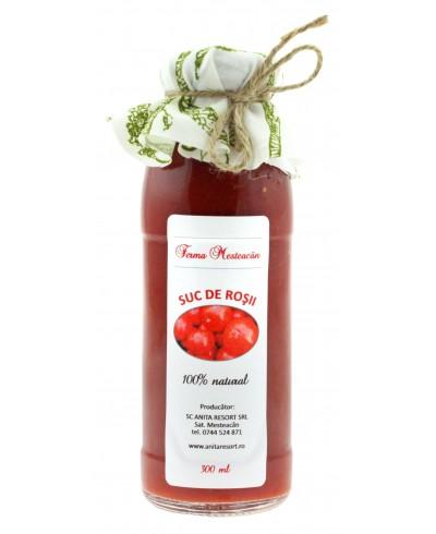 Suc de rosii organice